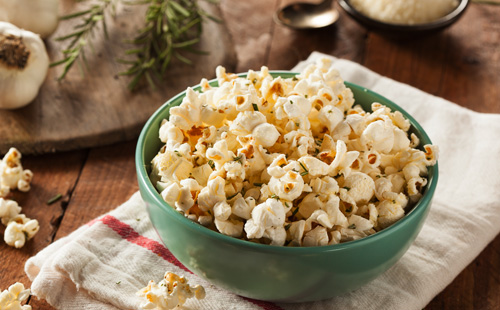 Rosemary Garlic Popcorn