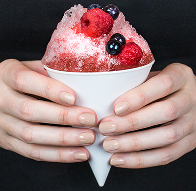 Homestyle Berry Snowcone